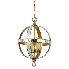Cal Lighting Passe 4 Light Globe Pendant
