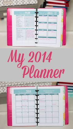 A in depth tour of my 2014 planner (plus a video tour).