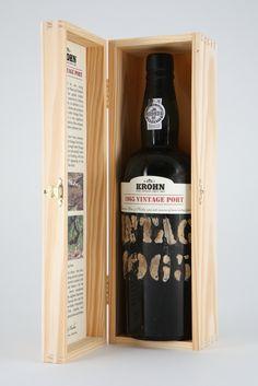 A Wiese & Krohn, um dos mais emblemáticos produtores de vinho do Porto, acaba de relançar o Krohn Vintage 1965. Meio século depois do ano de colheita, uma luxuosa edição especial assinala o 150º aniversário da casa centenária. #revistadevinhos