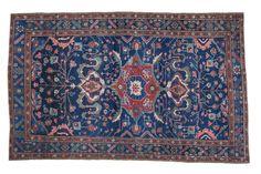 5x8 Vintage Hamadan Carpet