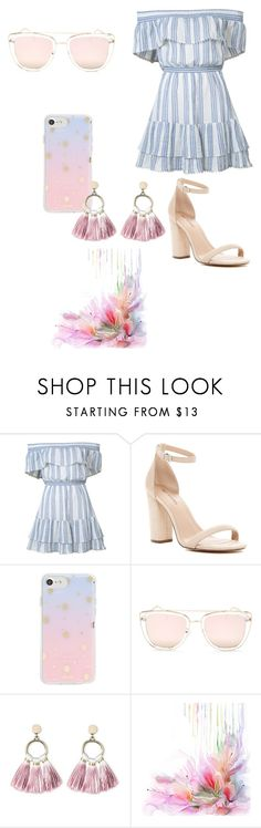 """Set 3...March 11th."" by liz957 on Polyvore featuring LoveShackFancy, Call it SPRING, Sonix, Quay, SUGARFIX by BaubleBar, set, beach, outfitoftheday and vacation"