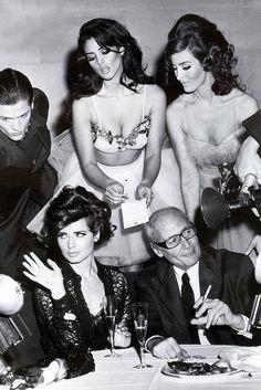 Dolce & Gabbana Spring 1992 Ad - Feat. Monica Bellucci & Isabella Rosellini