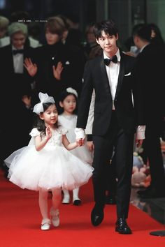 Imagine doyoung is your husband and he's surprising you with your daughter on your birthday