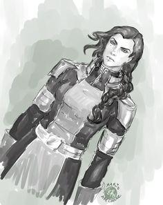 Kuvira -Legend of Korra by marieartcorner.deviantart.com on @deviantART