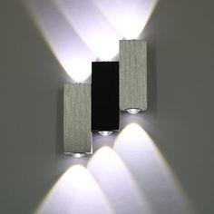 3W LED Wandleuchte Badlampe Wandlampe Flurlampe Lampe Außenleuchte ... | {Badlampe wandlampe 46}