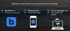 Trasferire immagini da iPhone al computer con Bump