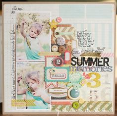 scrapbook page by megan klauer @ shimelle.com (sketch 4 for 2013)