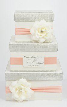 Card Box / Wedding Box / Wedding Money Box - 3 Tier - Personalized $119