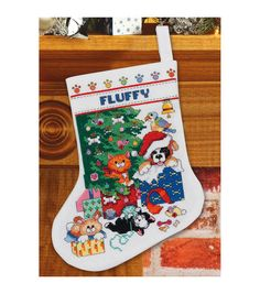 Janlynn Counted Cross Stitch Kit Pet Stocking, , hi-res