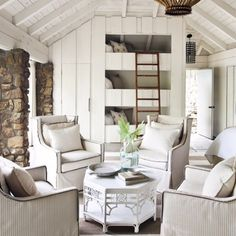 We are obsessed with how @heatherchadduck uses Perennials indoors. #winterwhites #perennialsfabrics