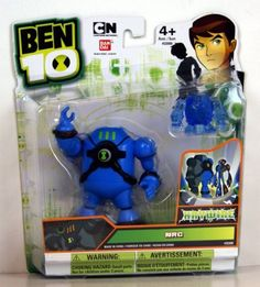 """Ben 10 Ultimate Alien 4"""" NRG Haywire (Includes Minifigure) by Ben 10. $5.50. Disc-shaped alien hero works with Disc Alien Ultimatrix. Blister card packaging. Articulated 4"""" figure. Comes with a disc-shaped alien hero or accessory. From the Manufacturer                Each Ben 10 4"""" articulated Ultimate Alien comes with a disc alien or accessory. Use the disc alien with the Disc Alien Ultimatrix and watch your favorite alien heroes appear.                                    P..."""