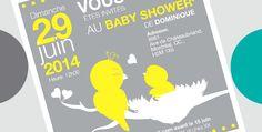"Invitation ""Baby Shower"" Baby Shower Invitations, Shower Invitation, Baby Sprinkle Invitations"