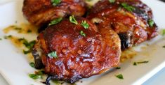 PrintOven Roasted Chicken with Apple Butter Barbecue Sauce is an easy chicken recipe that a friend recommended to me this summer. I have used Apple Butter in cakes and desserts but never in a BBQ sauce. Barbecue Chicken, Barbecue Sauce, Bbq Sauces, Asian Chicken, Oven Roasted Chicken, Baked Chicken, Butter Chicken, Entree Recipes, Cooking Recipes