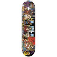 Cliche Last Supper R7 Skateboard Deck, color: Multi, category/department: skate-decks