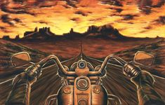 Details about Harley Davidson Painting Motorcycle Artwork Stretched Canvas Giclee - Mann Art - Motocicletas Harley Davidson Kunst, Harley Davidson Tattoos, Classic Harley Davidson, Harley Davidson Motorcycles, Vintage Motorcycles, Motorcycle Art, Bike Art, Motorcycle Posters, Motorcycle Types