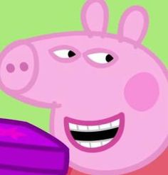 "peppa pig When Kim Taehyung a CEO suddenly wanted to Marry a broke Jeon Jungkook ""Him he's my fiance"" Previously known as Force. Really Funny Memes, Stupid Funny Memes, Funny Relatable Memes, Haha Funny, Funny Cartoon Memes, Peppa Pig Funny, Peppa Pig Memes, Peppa Pig Cartoon, Cartoon Profile Pictures"