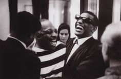 Count Basie and Ray Charles