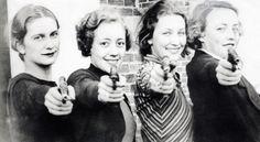 Ladies champions team of the Missouri University shooting club 1934