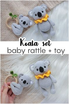 Baby Shower Baskets, Baby Shower Gifts, Crochet Toys Patterns, Stuffed Toys Patterns, How To Make Toys, Owl Hat, Baby Rattle, Unique Presents, Amigurumi Toys