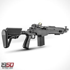 2016 Springfield Armory M1A SOCOM collapsible stock.