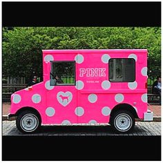 Pink Ice Cream Truck ☆ Girly Cars for Female Drivers! Love Pink Cars ♥ It's the dream car for every girl ALL THINGS PINK!
