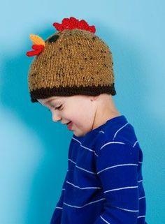 cedadefd24f Chicken Hats - Knitting Patterns by Sharon K. Stewart Chicken Hats