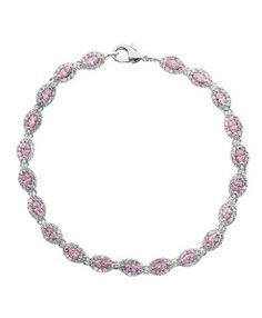 pulseiras semi joias riviera rosa