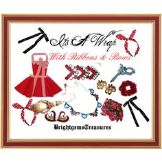 Its A Wrap with ribbons & bows jewelry and fashions