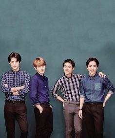 Sehun, Baekhyun, D.O, Xiumin