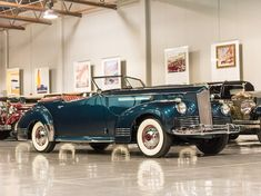 1942 Packard Clipper One Eighty Convertible Victoria by Darrin