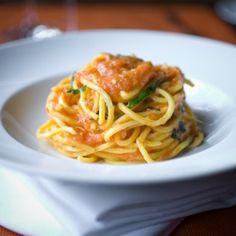 The best spaghetti I've ever had...thank you Scott Conant