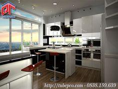 Tủ bếp Acrylic là gì? Tại sao lại được ưa chuộng trong lĩnh vực nội thất