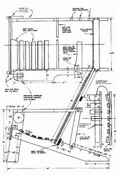 adirondack chair plans again. http://www.startwoodworking, Hause und Garten