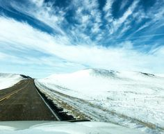 Headed #west #highway200 in the #Bakken. Soon #spring #backroads #outwest #snowismelting #isitspringyet #blueskies #greatroads #letstravel #explore #adventure #drive #northdakota #grasslands #badlands #beautifulbakken http://ift.tt/1J6Nfso