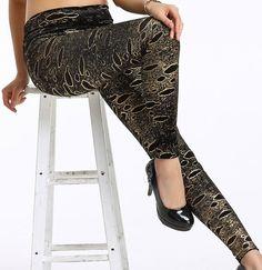 Cheap Black Metallic Korean Fad Empire Waist Leggings online - All Products,Fashion Clothing,Fashion Leggings Fishnet Leggings, Footless Tights, Leggings Sale, Lace Leggings, Tops For Leggings, Printed Leggings, Sexy Outfits, Fashion Outfits, Sexy Stockings