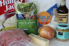 3 Easy Shepherds Pie, One Pot Meals, Sausage, Recipes, Food, Sausages, Recipies, Essen, One Pot Wonders