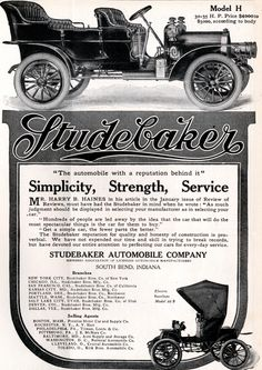 Studebaker - Life Easter Number - March 21, 1907