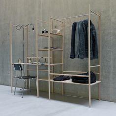 Living Unit by Niklas Hamann, via Behance