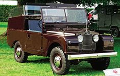 1953 Land Rover Series 1, the first Royal Land Rover