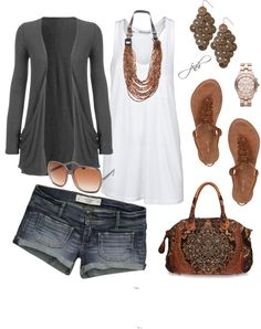 """Summer"" by jill-hammel on Polyvore"