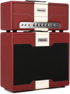 "Marshall Astoria Custom 30W Tube Head and 1x12"" Cabinet Stack."