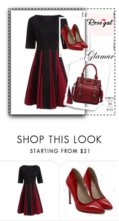 """""""Rosegal28"""" by gold-phoenix ❤ liked on Polyvore featuring vintage"""