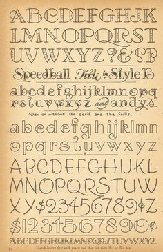 Lettering fonts hand drawn fun fancy journaling Journal, hand lettering, alphabet, font Easy hand drawn lettering great for journaling scrapbooking wedding invitations Hand Lettering Fonts, Doodle Lettering, Creative Lettering, Calligraphy Fonts, Typography Letters, Brush Lettering, Caligraphy, Lettering Ideas, Chalkboard Lettering Alphabet
