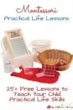 25 Practical Life Lesson tutorials