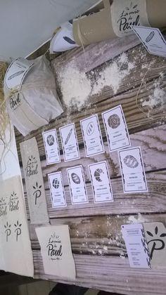 """© Identité """" la Mie de Paul """"Artisan boulanger - Designed by : Margot Brasseur - Garance Anrys - Jeason Pourcelet - Brieuc Degouys"""