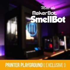 MakerBot is Working on Scent-Based 3D Printer. MakerBot Industries has just announced their newest line of 3D Printers, and we have the exclusive story. Introducing... a printer that prints smells? No, we're not making this up.   #3dprinting #3d #makerbot