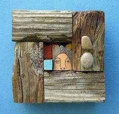 escultura en maderaDriftwood Más