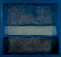 """Are you the next Rothko or Rembrandt? This is Mark Rothko's """"White Band No. 27"""" from 1954, an oil on canvas we're sure Stage West would love to display. (PHOTO: File/Private collection)"""