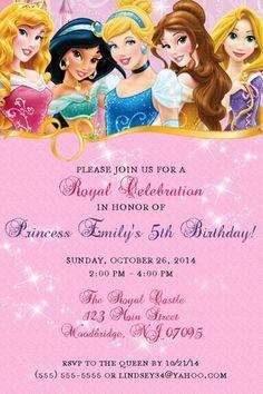 Disney princess birthday pictures impremedia disney princess invitations printable diy by qualitydesignskathy stopboris Image collections