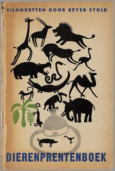 Dieren prentenboek -  silhouetten,  Reyer Stolk h by peacay, via Flickr